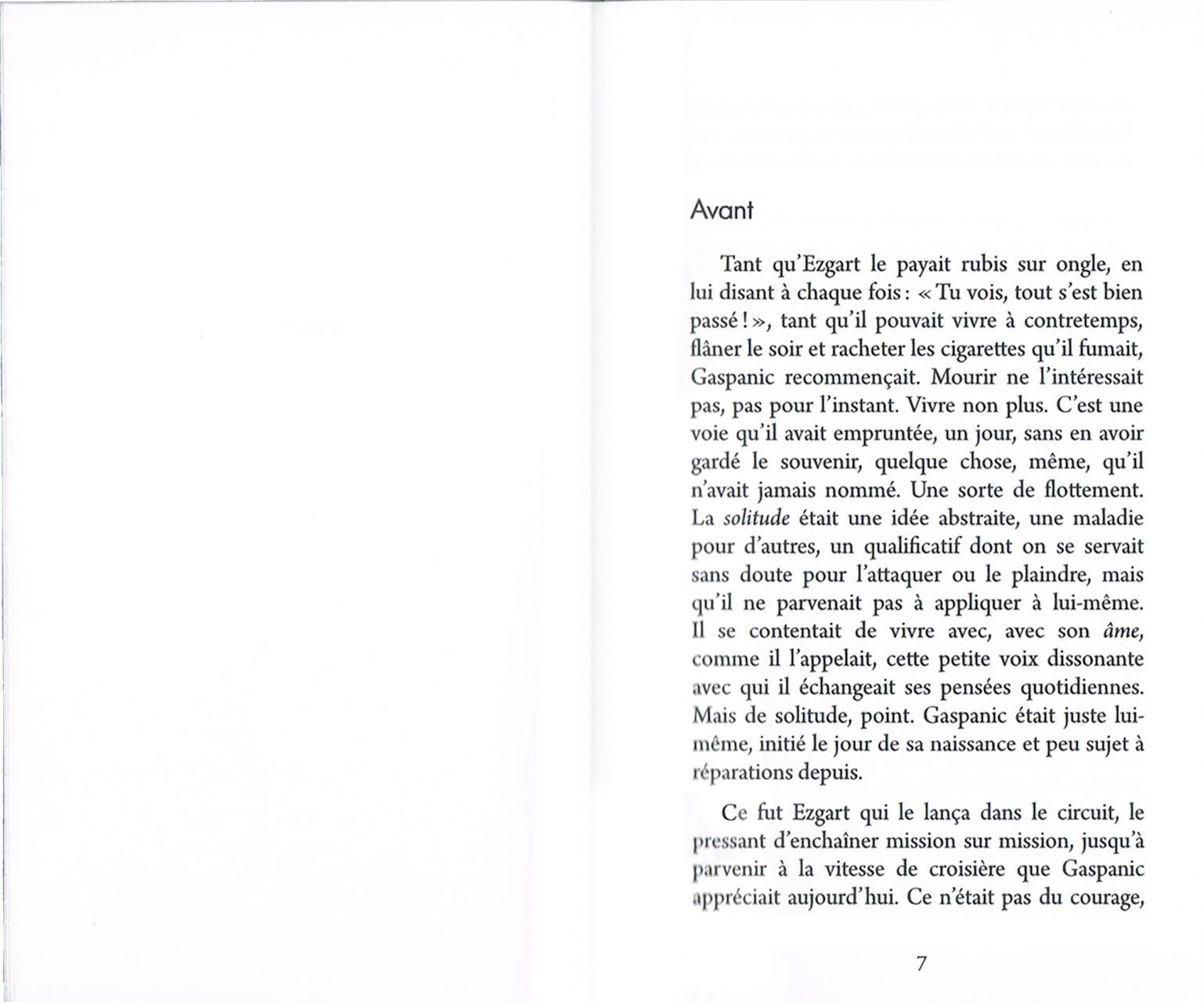 L'envoyé, roman de Patrick Guedj