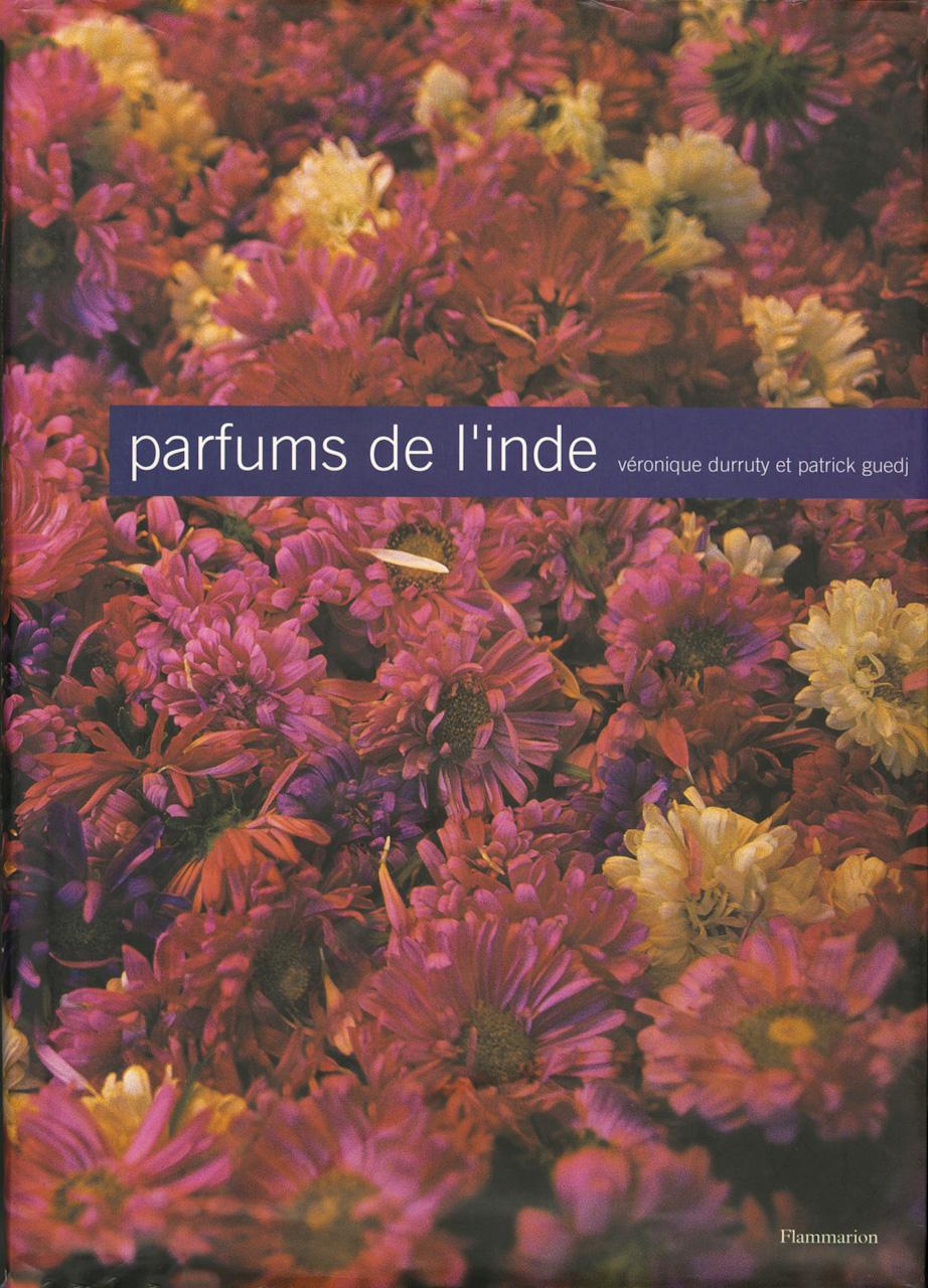 Couverture parfums de l'Inde, Patrick Guedj
