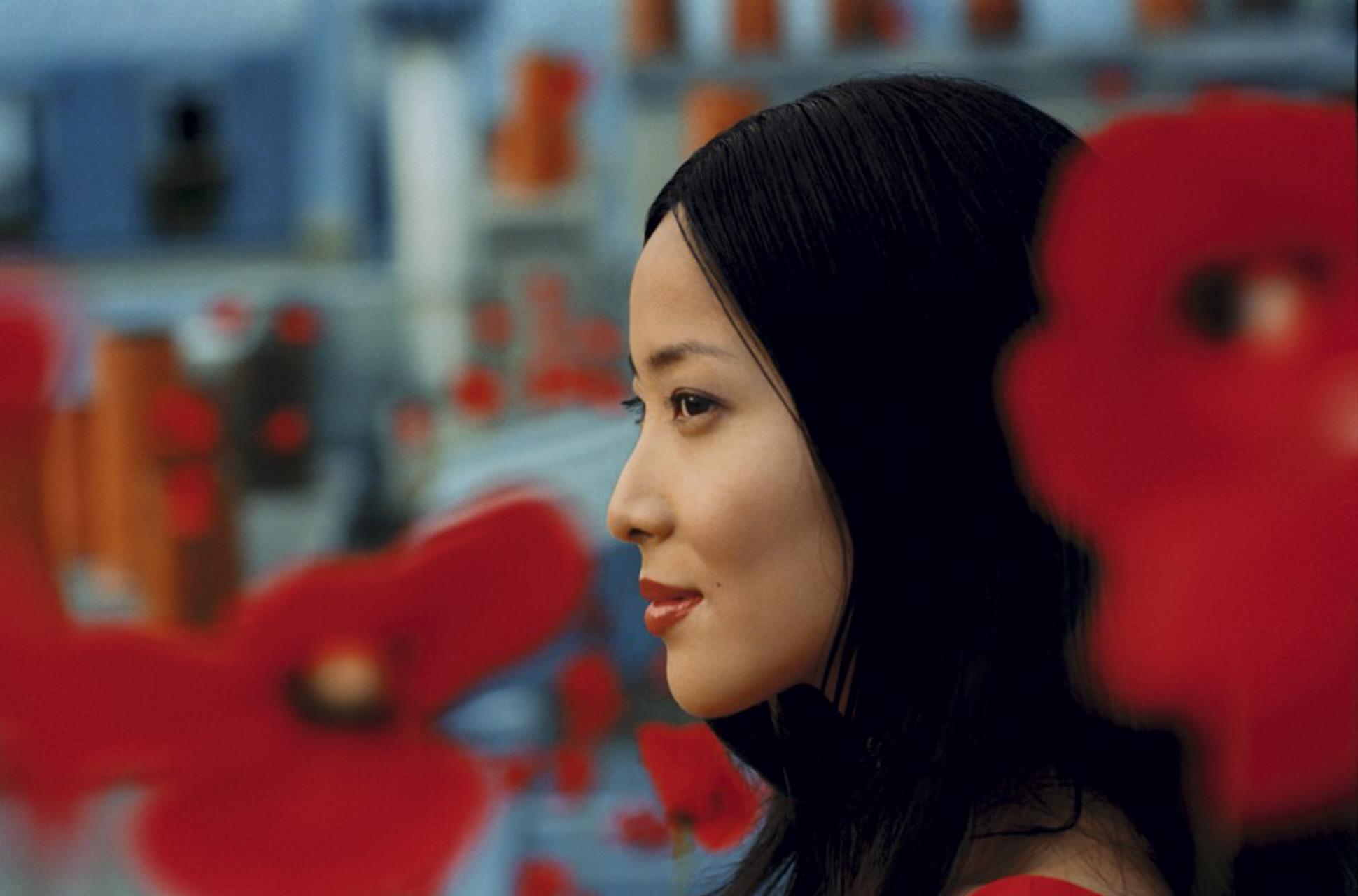 Lika Minamoto pour Kenzo.